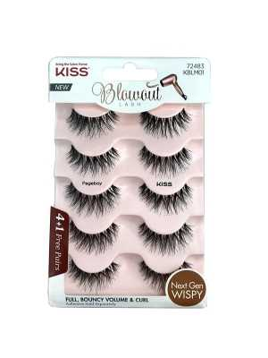 KISS Blowout Lash Multipack Pageboy (4+1 Free Pairs) - KBLM01
