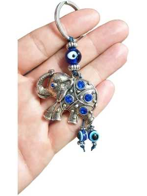 Evil Eye Key Chain Turkish Charm Protection